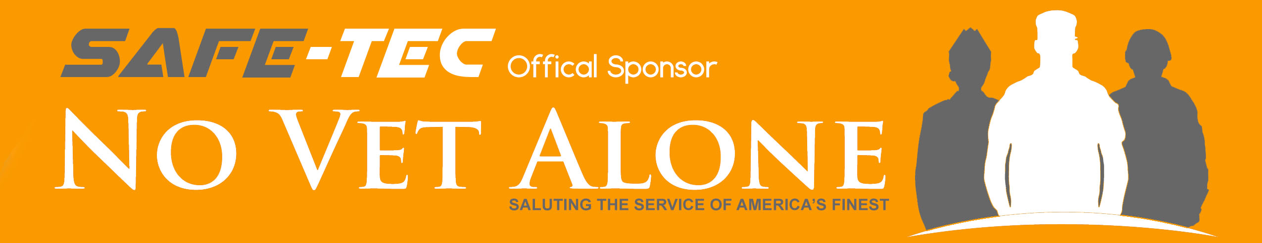 Safe-Tec is official sponsor of No Vet Alone.